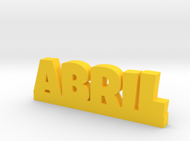 ABRIL Lucky in Yellow Processed Versatile Plastic