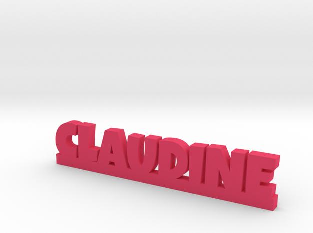 CLAUDINE Lucky in Pink Processed Versatile Plastic