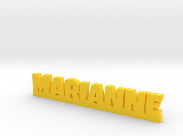 MARIANNE Lucky in Yellow Processed Versatile Plastic