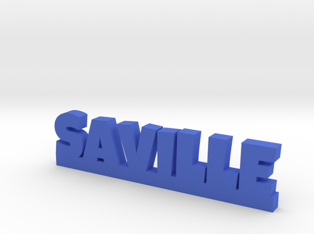 SAVILLE Lucky in Blue Processed Versatile Plastic