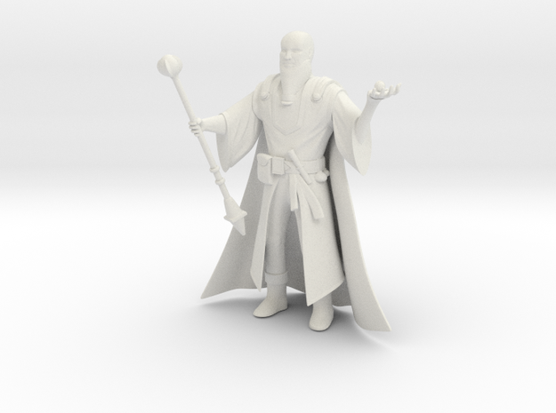 Wizard from DICE MAGIC in White Strong & Flexible: 1:18