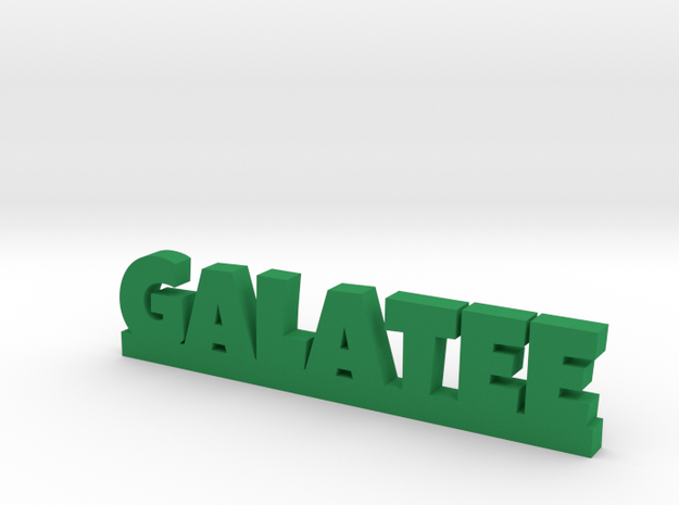 GALATEE Lucky in Green Processed Versatile Plastic