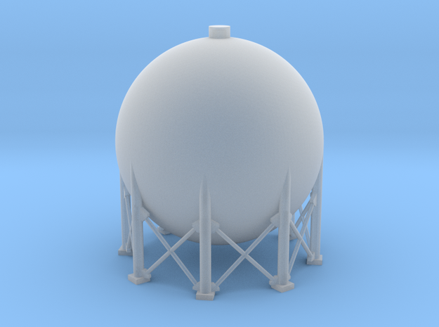 N Scale Spherical Tank 137m3