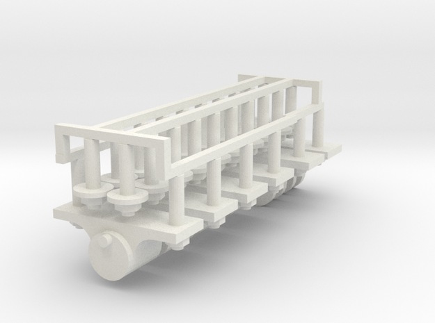 Axle boxes and coupling 7/8n2 in White Strong & Flexible