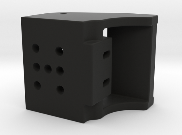 "Paddle Block 1/2"" Magnets in Black Strong & Flexible"