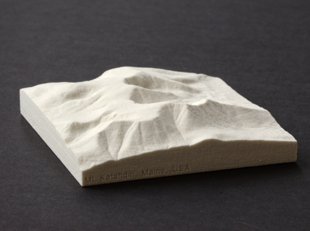 4'' Mt. Katahdin, Maine, USA, Sandstone in Natural Sandstone