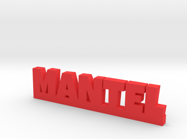 MANTEL Lucky in Red Processed Versatile Plastic