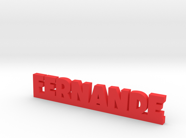 FERNANDE Lucky in Red Processed Versatile Plastic