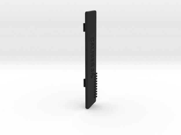 Caliber 3PS - battery door in Black Strong & Flexible
