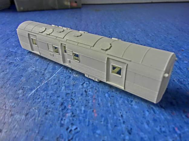 NZ120 Fs Class (Steam Heat Van) 3d printed Printed in Frosted Ultra Detail