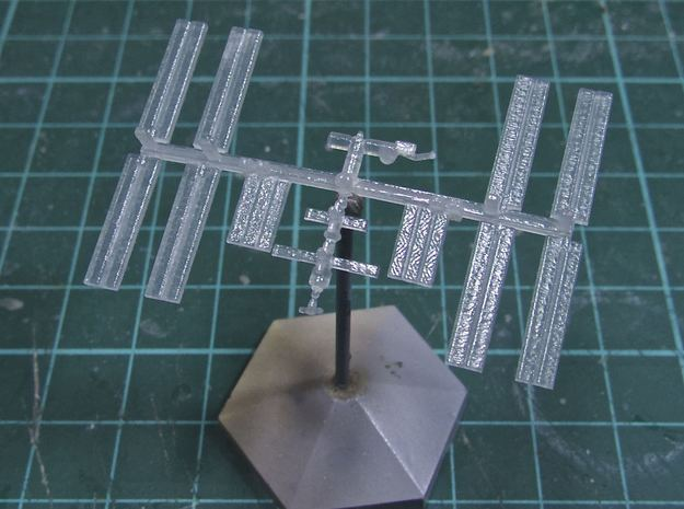 1/537 NASA International Space Station ISS in White Strong & Flexible