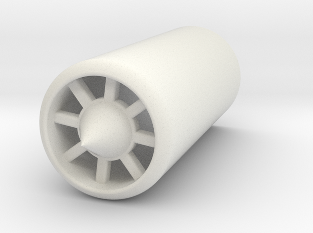 Turbine Plug in White Strong & Flexible