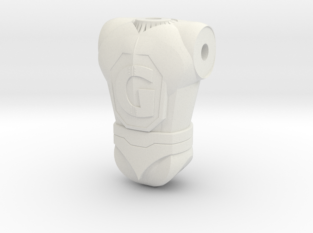 Ginormo Torso 130 in White Strong & Flexible