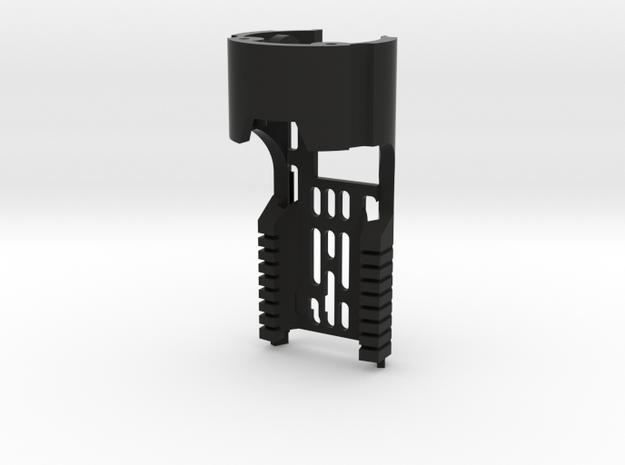 Main Chassis for Korbanth DV6 CF/PC in Black Natural Versatile Plastic
