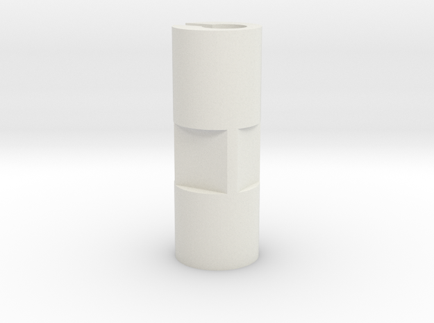 KMD-FR01 Adjustment Sleeve in White Natural Versatile Plastic