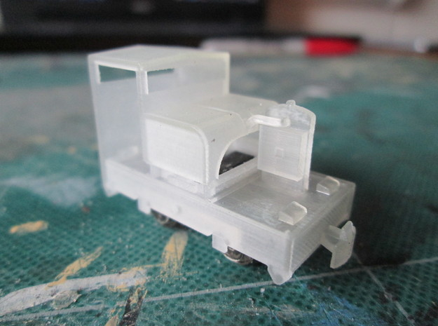 N102 - 009 20hp Simplex - Cab 1 - World craft in Frosted Ultra Detail