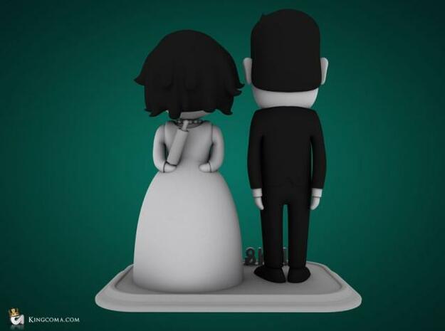 Newly weds 3d printed Description