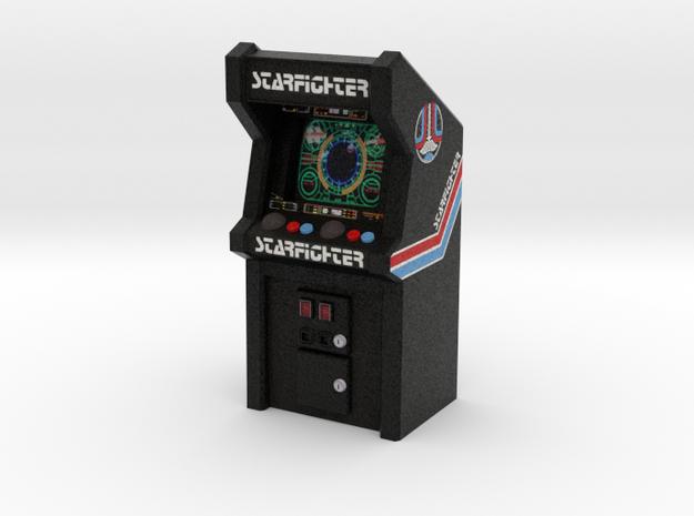 Last Starfighter Arcade Game, 35mm Scale in Full Color Sandstone