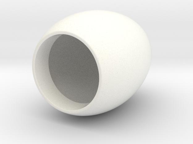 Duckfish Tabletop Egglight in White Processed Versatile Plastic