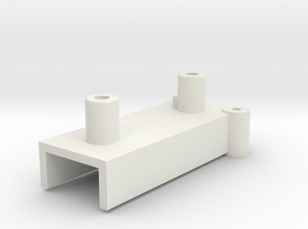 GuidaClinoDX in White Natural Versatile Plastic