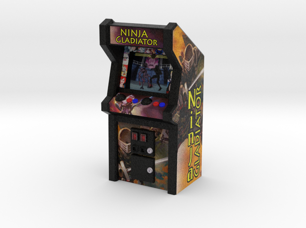 Ninja Gladiator Arcade Game, 35mm Scale