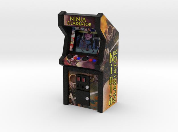 Ninja Gladiator Arcade Game, 35mm Scale in Full Color Sandstone
