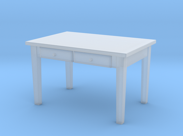 H0 Kitchen Table - 1:87 in Smooth Fine Detail Plastic