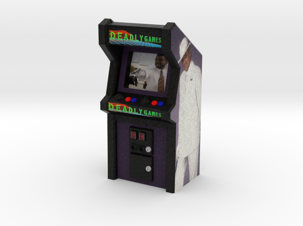 Deadly Games Arcade Game, 35mm Scale