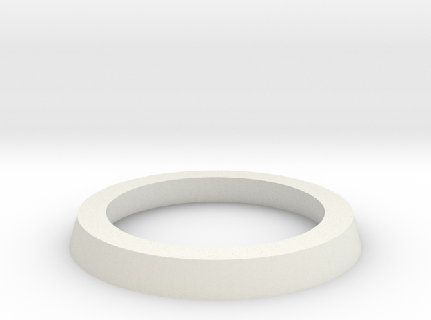 25mm to 32mm Adapter Ring in White Strong & Flexible