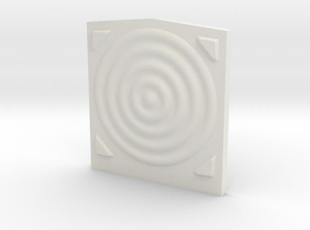 Van Dorn Revised HO Scale Corrected (3.27 Cm Wide) in White Natural Versatile Plastic