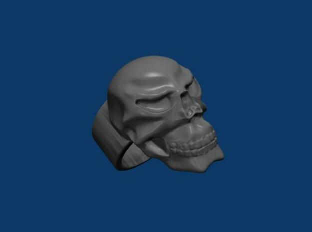 Skull Ring 3d printed Description
