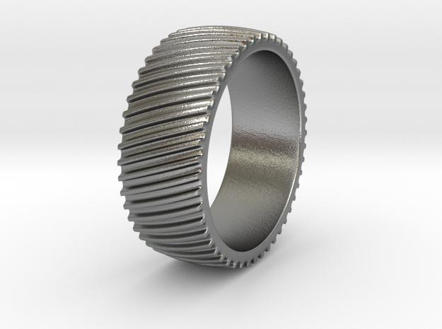 Richard - Ring in Natural Silver: 6 / 51.5