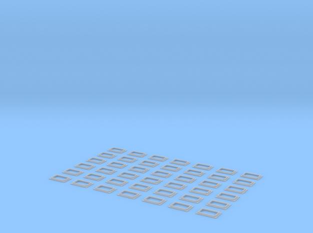 Railjetfenster Scale TT in Smooth Fine Detail Plastic