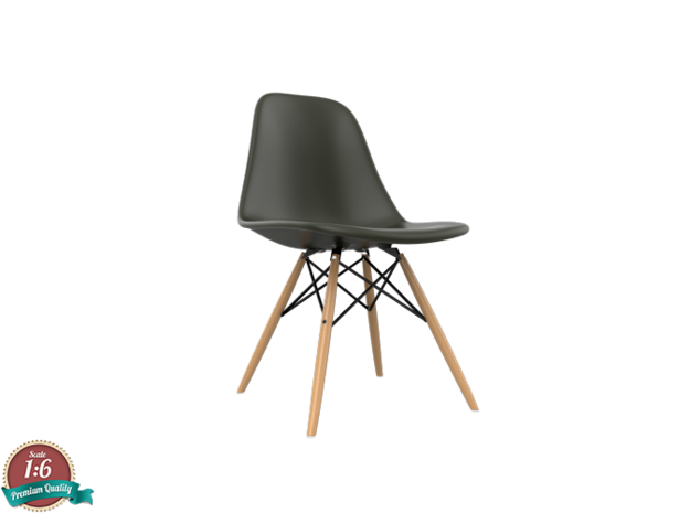 1:6 Miniature Eames DSW Chair - Charles Eames