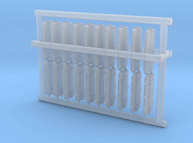 1/96 DKM Port Rectangle V2 Set in Smooth Fine Detail Plastic