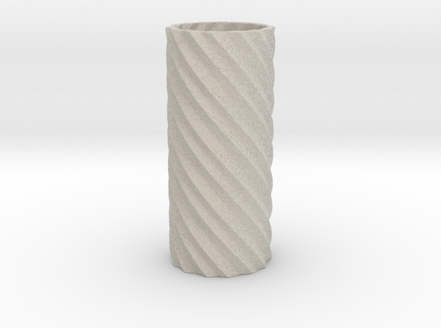 Double Spiral in Sandstone