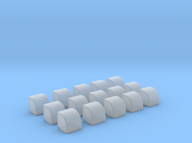 1/96 DKM Vent Side v2 Set x15 in Frosted Ultra Detail