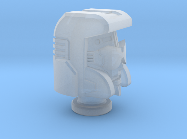 Pacifist Head for Cybertron Swindle in Smooth Fine Detail Plastic