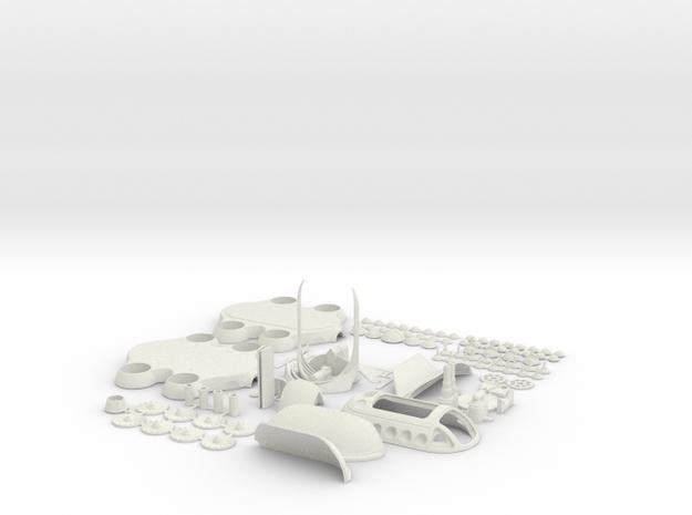 COLBRI-ALLPARTSfix in White Strong & Flexible