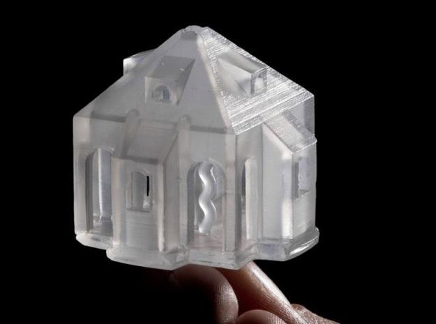 Bernino 3d printed Lead glass casting in collaboration with CERFAV, France.