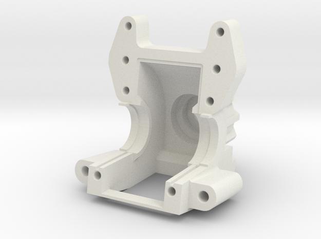 AXIAL YETI / EXO Bulkhead V2 in White Natural Versatile Plastic