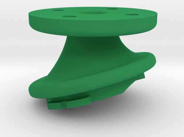 Varia Headlight K-Edge Combo Mount 17° Interface in Green Processed Versatile Plastic
