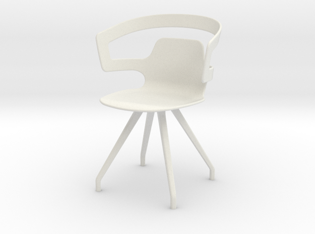 Alias Segesta in White Natural Versatile Plastic