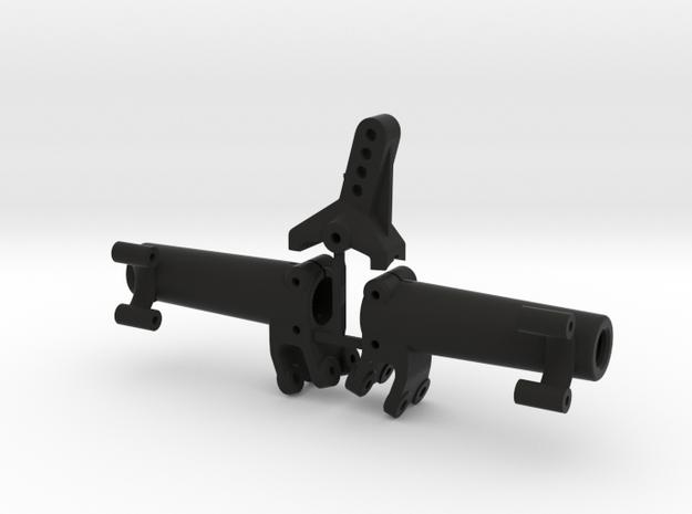 Rear axle AR44 | Kit wider in Black Strong & Flexible