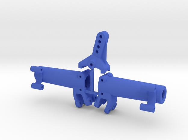 Rear axle AR44 | Kit wider in Blue Processed Versatile Plastic