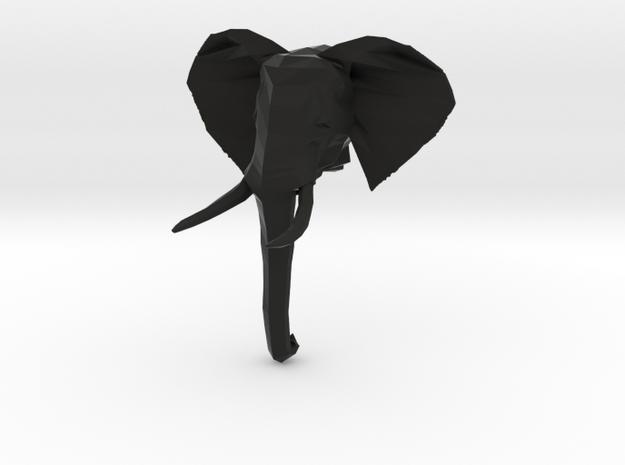 African Elephant Head