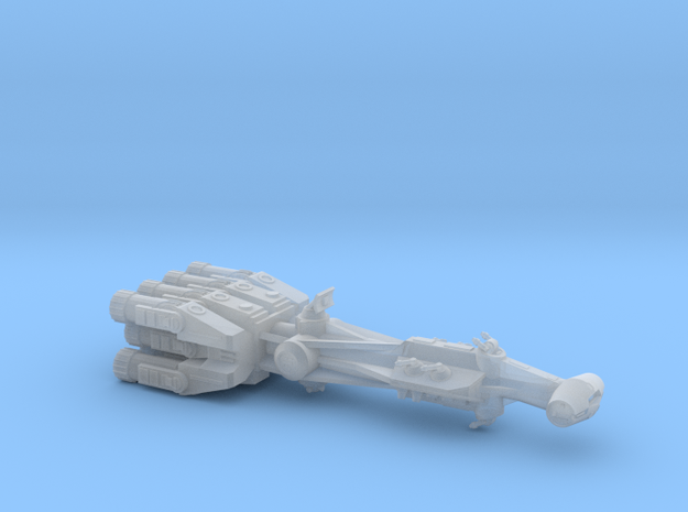 Rebellious Spaceship, 1:2700 in Smoothest Fine Detail Plastic