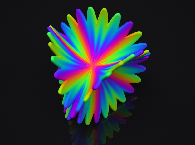 Spectral Flower in Full Color Sandstone