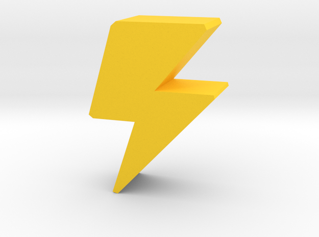 Game Piece Lightning Bolt