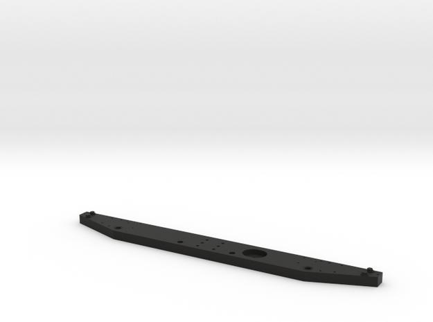 Rear bumper D90 D110 Team Raffee in Black Natural Versatile Plastic